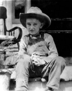 1915 LBJ cowboy